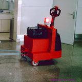 2000kg Tractor van het Slepen van het Karretje van de Kar van de Luchthaven van de capaciteit de Elektrische