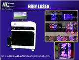2014 Nouveau modèle de machine à gravure laser de cristal en 3D, machine de découpe laser (HSGP-4DK)