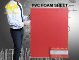 Folha de espuma de PVC vermelho para a tabela 6-20mm