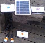 sistema chiaro solare dei kit di illuminazione di 2PCS 2W LED per le stanze domestiche
