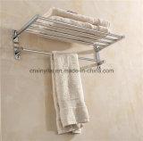 G-1127 Casa de banho Roupão de toalha de bronze cromado com função dobrável