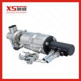 Sanitaire hygiénique en acier inoxydable Ss304 Ss316L Vanne de dérivation pneumatique