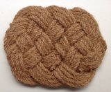 Esteiras de porta tecidas naturais do assoalho de tapetes dos tapetes dos Doormats da corda da fibra ao ar livre interna dos Cocos da fibra de coco do coco