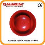 火災探知の火災報知器、アドレス指定可能な可聴周波か視覚アラーム(640-001)
