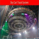 Het Systeem van de Kar van het spoor, Bewegende Lichte Auto, voor Stadium, toont (yz-D701)