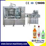 Bebida do álcôol/lavagem líquida frasco de vidro, enchimento, máquina tampando
