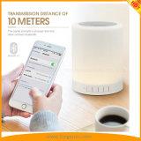 Beweglicher Bluetooth Musik-Lautsprecher-intelligentes Noten-Nachthelle Farben-Ändern