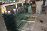 OEM Factory 10mm 12mm Clear Tempered / Store Front / Glass with Cut and Polished