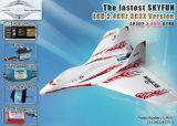 Più nuovo rtf dell'affissione a cristalli liquidi Tx RC Aircraft di 3G3X RC Plane Model Jet Skyfun 2.4GHz Foam RC Plane