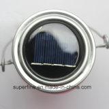 Solar LED Colgante romántica Firefly Mason Jar decoración luces de exterior