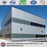 作業オフィスのための鋼鉄構築の商業建物