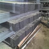 Tubo de acero cuadrado galvanizado carbón de ERW