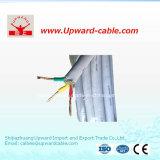 3つのコア銅の適用範囲が広い電気ワイヤー