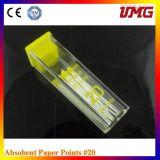 Umgからの歯科ミリメートルのマーク付きの吸収性のペーパーポイント
