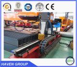 Plasma del CNC CNCTG-1500X3000 y cortadora de llama con el vector