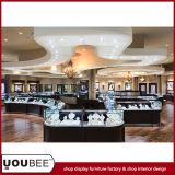 Retail Jewellery 상점을%s 나무로 되는 Jewelry Display Showcases