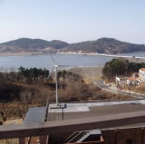Rooftop를 위한 바람 Power Generator System 3000W