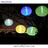 Bulbo de la lámpara solar de iluminación LED de la noche al aire libre Iluminación colgantes