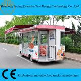 De dubbele Bestelwagen van de Vrachtwagen van het Voedsel van Schuilplaatsen voor het Verkopen van Cakes en Koekje (Ce)