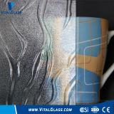 Вычисляемое стеклянное/сделанное по образцу стекло/свернуло стекло/выбитое стекло стекла/Knurling (Nashiji, Mistlite, флору, Karatachi, диамант) с CE, ISO