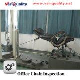 Lederner Büro-Stuhl QC-Inspektion-Service und Qualitätskontrolle-Service in Shunde, Zhongshan, Anji, Dongguan