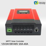 Het ZonneControlemechanisme van de Last MPPT 12V/24V 20A 30A 40A