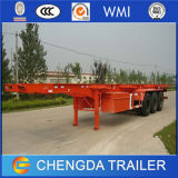 반 중국 세 배 차축 해골 트럭 트레일러 콘테이너 트레일러