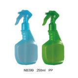 Bottiglia di plastica dello spruzzatore di innesco dell'animale domestico per pulizia della famiglia (NB393)