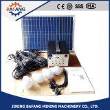 mini sistema de iluminação 10W Home solar/jogos solares portáteis da C.C. para acampar