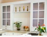 Küche-Größe für kundenspezifische hölzerne Belüftung-Küche-Schrank-Möbel (zc-030)