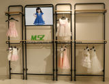 Metallbildschirmanzeige-Zahnstange, Ausstellungsstand, Slatwall, Wand-Gerät