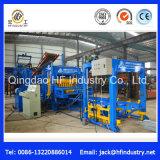 Máquina de fatura de tijolo de pavimentação oca hidráulica automática do bloco de cimento Qt6-15