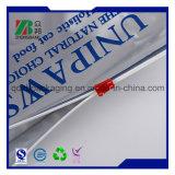 Sacola de t-shirt de compras de plástico impresso a HDPE (ZB589)