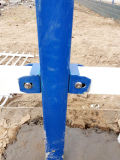 R32 2 가로장 관 말뚝 울타리