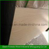 Material de fantasía de madera contrachapada laminada de la melamina, madera contrachapada Comercial
