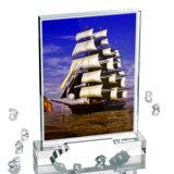 直接工場白い卸売3Dの写真の昇華水晶