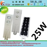 25W All in One Integerated Solar LED Street Lighting