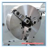 Macchina orizzontale del tornio della base di spacco del metallo di alta precisione (C6251 C6256)