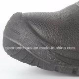 Schoenen RS1002 van de Veiligheid van de Teen van het Staal van het leer de Hogere