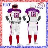 Großhandelssportkleidung-kundenspezifisches amerikanischer Fußball-Hemd