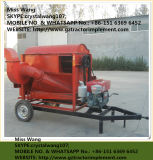 Молотильщик риса пшеницы высокой эффективности дешевый/малый урожай молотя - сбывание молотильщика машины горячее