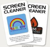 Farbenreiche Vierecks-Form Microfiber klebriger Bildschirm
