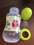 BPA-Freie pp.-Rohstoff-Plastikbaby-Kind-Flasche