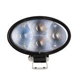 9-80V 12W de 5,6 pulgadas LED Oval las luces de alerta automática