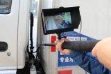 """Hasta 7.5m barra telescópica Impermeable IP68 Full HD 1080P de la Cámara de Inspección Visual con 7"""" DVR para Epuipment/Chimenea/inspección submarina"""