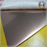 Edelstahl-Blatt-warm gewalzte Platte ASTM/AISI (316 316L 316Ti)
