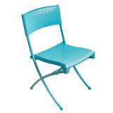 Plastikfalz-Stuhl-Hausgarten-Büro-im Freienhotel-Möbel