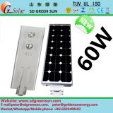 60W All in One Integerated Solar LED Street Lamp