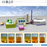 5 Ton de refinação de plástico Gettig vegetais Óleo Diesel