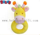 6  brinquedos amarelos do suporte do bebê do luxuoso do Giraffe